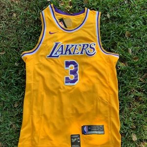 Anthony Davis Los Angeles Lakers Nike Jersey